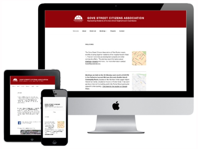The GSCA had been relying on the newspaper and word-of-mouth to communicate, so we offered them a site.